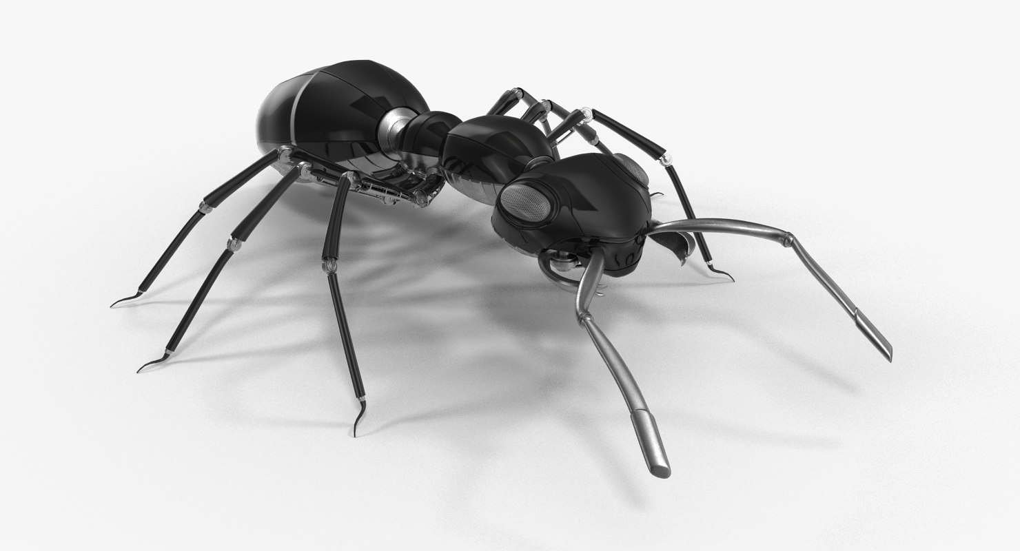robotic ant 3D model
