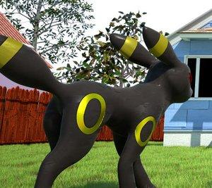 3D model pokemon