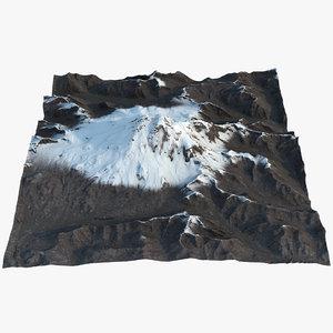 3D mount elbrus model