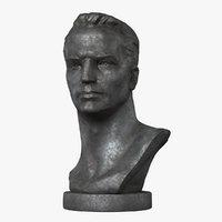 chkalov valery pavlovich legendary 3D model