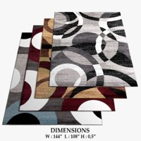 area rugs 1 3D