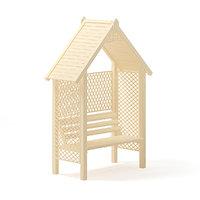 3D bower bench model