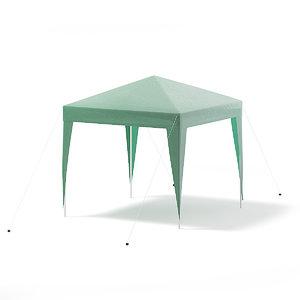green garden pavilion 3D