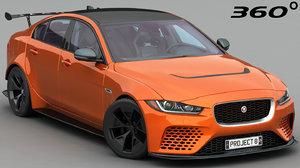 project xe sv 8 3D model