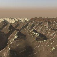 - terrain 10 himalayan 3D model