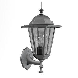 classic wall exterior lamp 3D model
