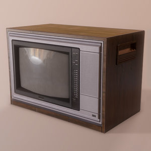 trinitron crt tv screen 3D