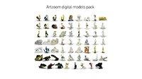 3D model digital pack
