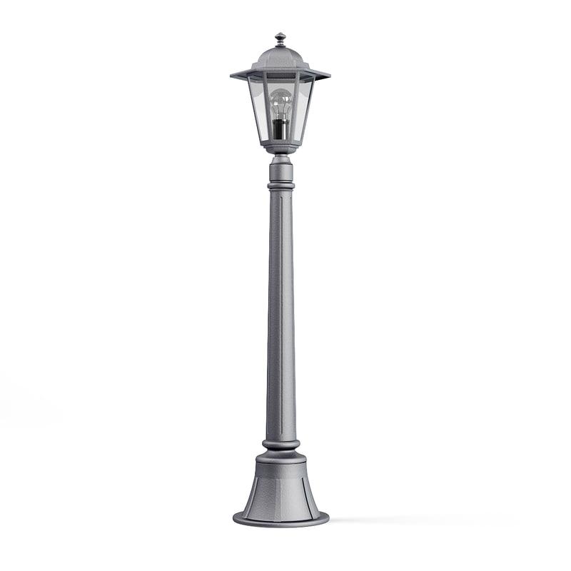 3D park lantern