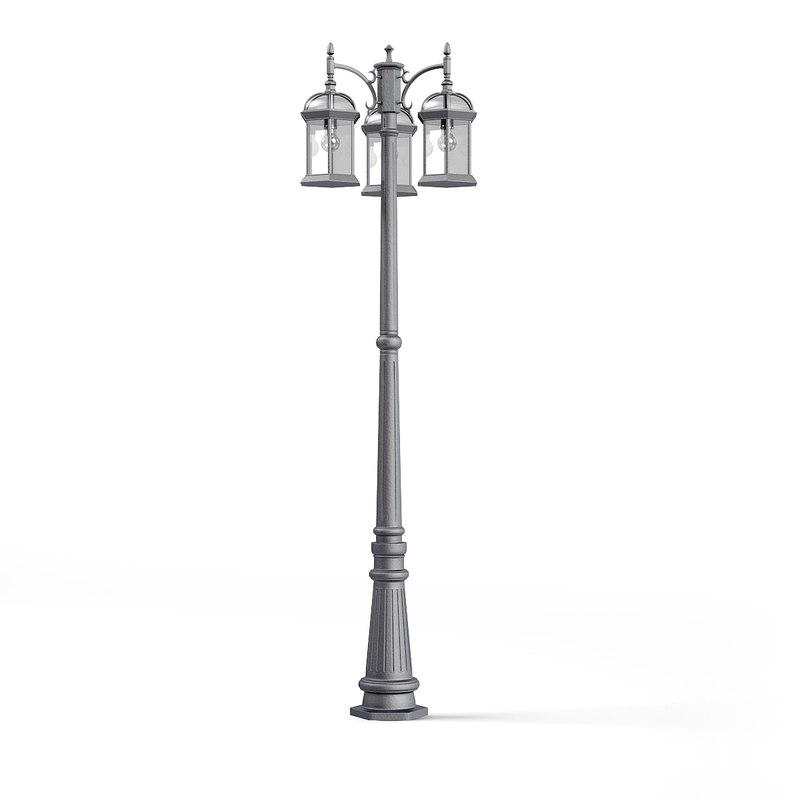triple park lantern model