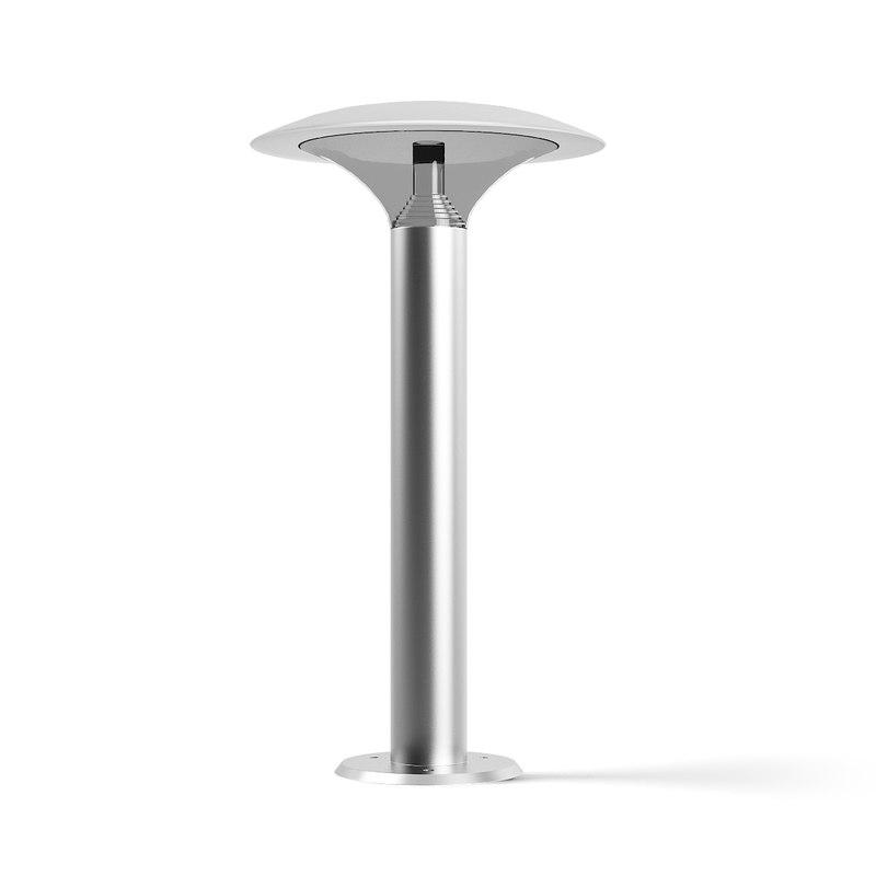 3D exterior standing lamp