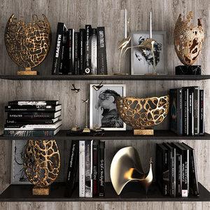 decorative set 25 3D model