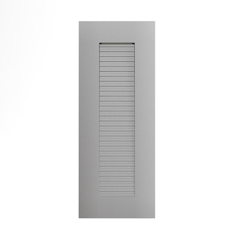 3D rectangular modern exterior wall model