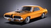 1970 mercury 3D
