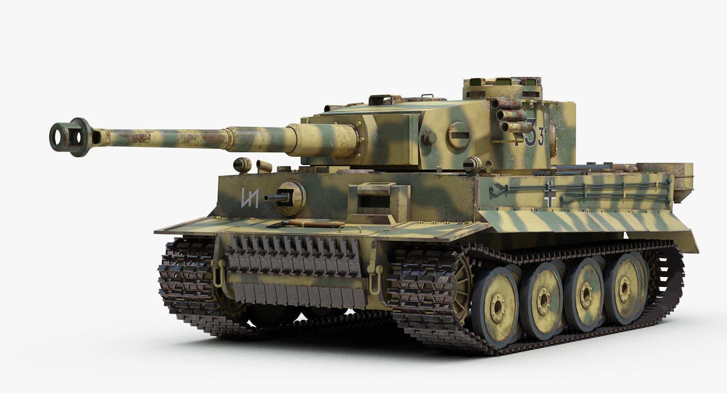 3D ww2 german sdkfz 182