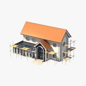 building construction 3 3D model