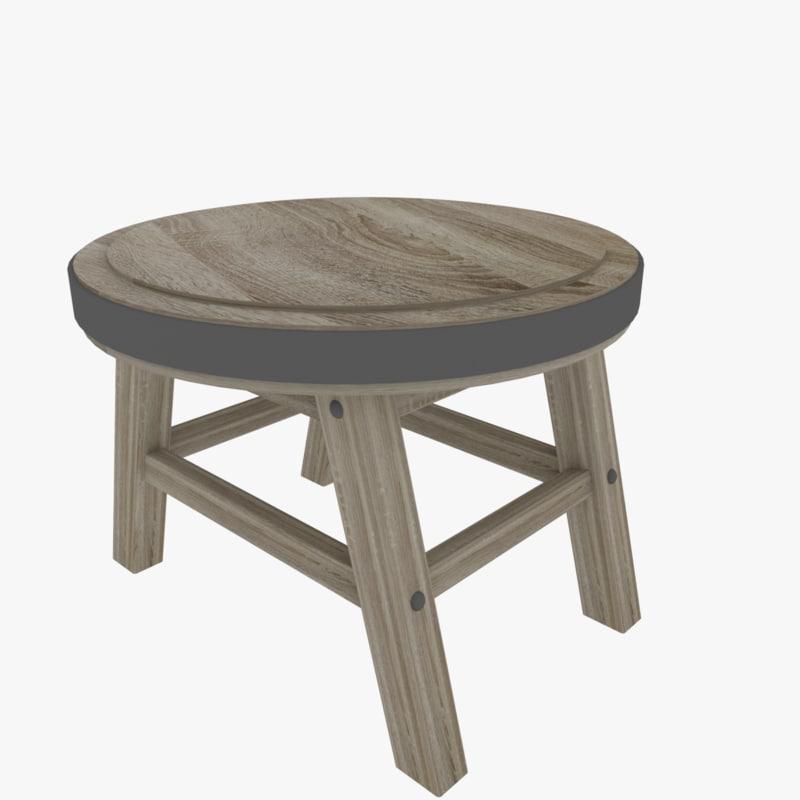3D ready stool
