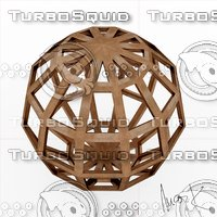 Leonardo Hebdomecontadilfaedron 3D