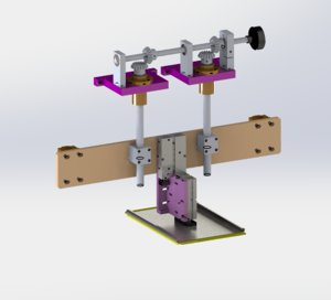 manual fine-tuning module 3D model