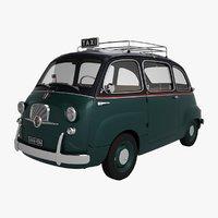 Fiat 600 Multipla Taxi 1957