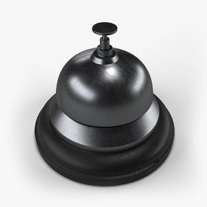 reception bell 3D model