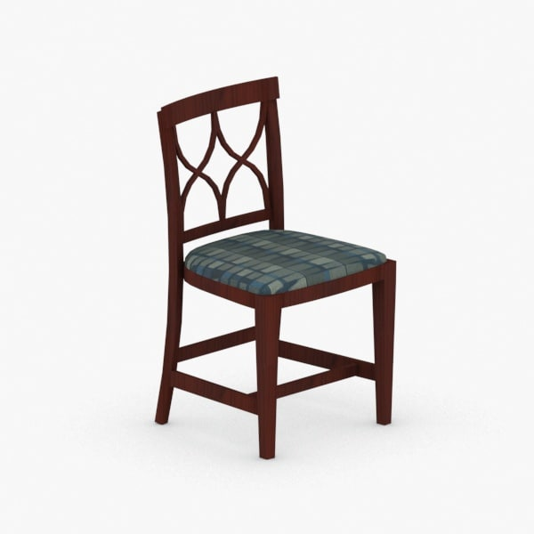 3D interior - chair stool model