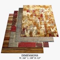 3D model area rugs 6