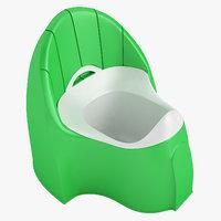 baby toilet 3D model
