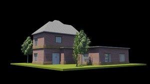 3D model house interiors