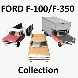f-100 f-350 3D
