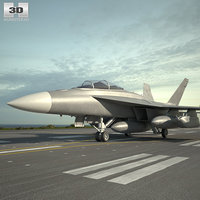 boeing growler ea-18g 3D model