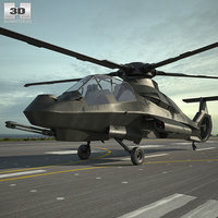 sikorsky boeing comanche 3D model