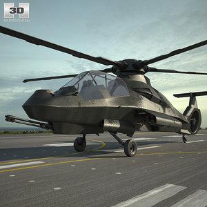 sikorsky boeing comanche 3D model