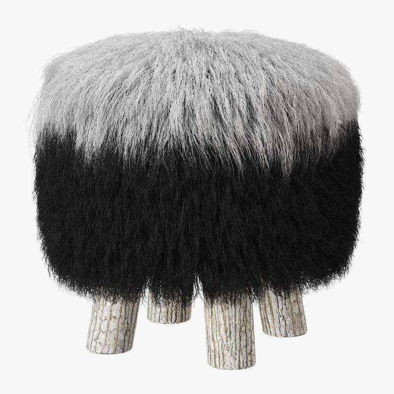 3D wool model