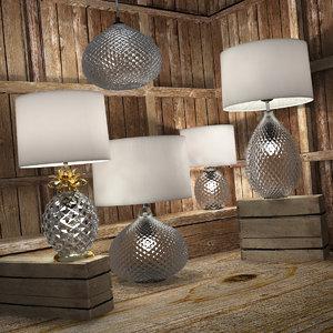 decorative lamps glamour model