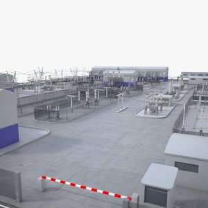 3D electrical substation