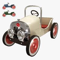 3D car children toy