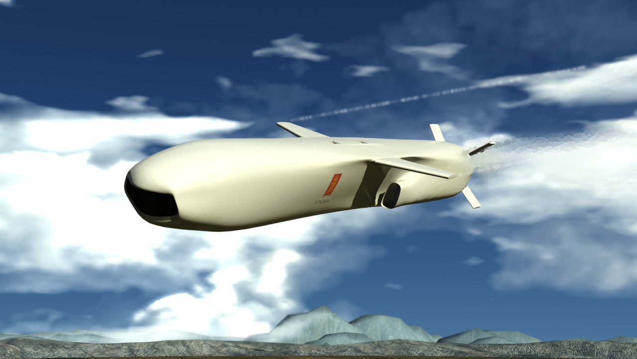 joint strike missile 3D
