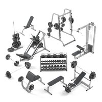 Large set for the gym by Bodysolid