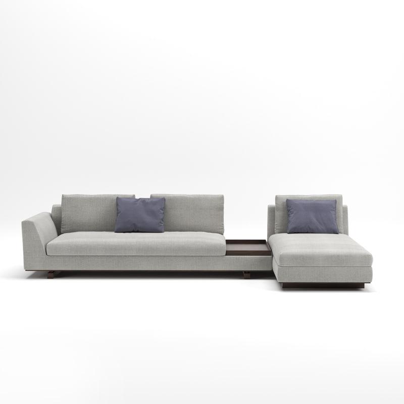 tama livin sofa 3D model