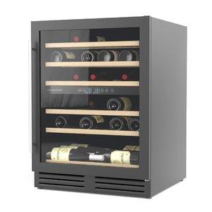 3D built-in wine cabinet