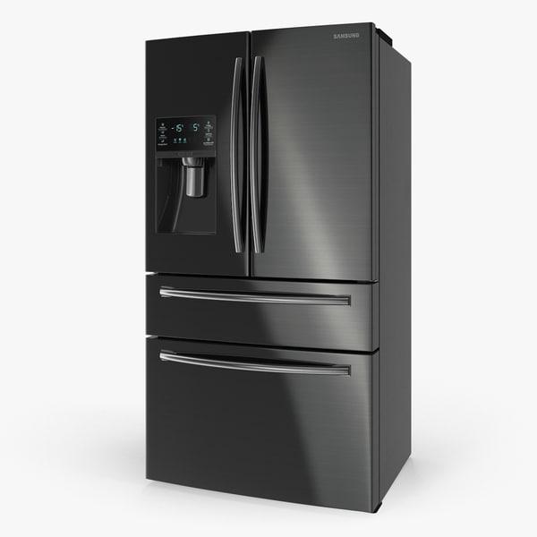 3D samsung 4 door refrigerator