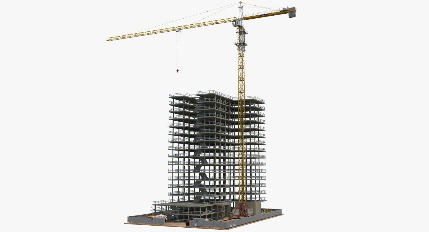 building construction 2 equipment model