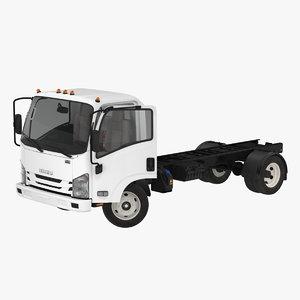 commercial truck isuzu npr 3D