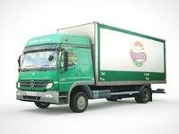 3D atego cargo truck model