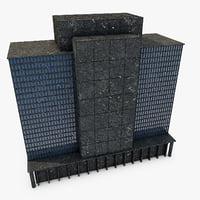 3D model building 01