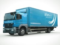 axor cargo truck 3D model