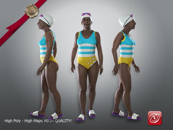 female swimmingpool ain 003 model