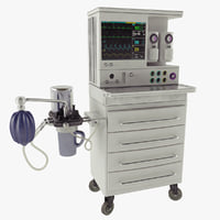 anesthesia machine 3D