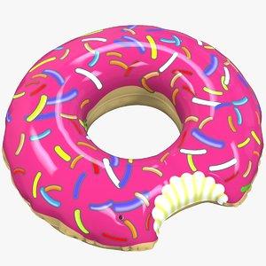 3D donut life buoy